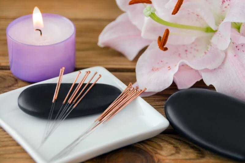 Akupunktur, Moxibustion, Gua Sha